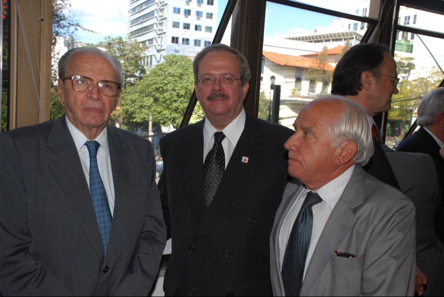 Ministro João Camilo Penna, Carlos Alberto Teixeira de Oliveira e Renato Travassos