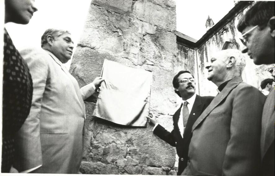Solenidade de Entrega do novo Colégio do Caraça - 18.04.1990 01