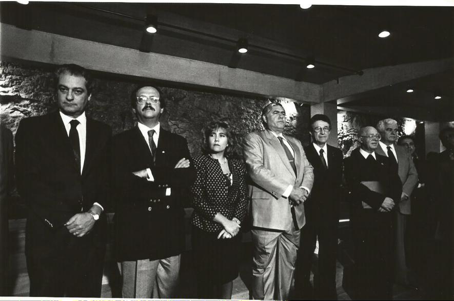 Solenidade de Entrega do novo Colégio do Caraça - 18.04.1990