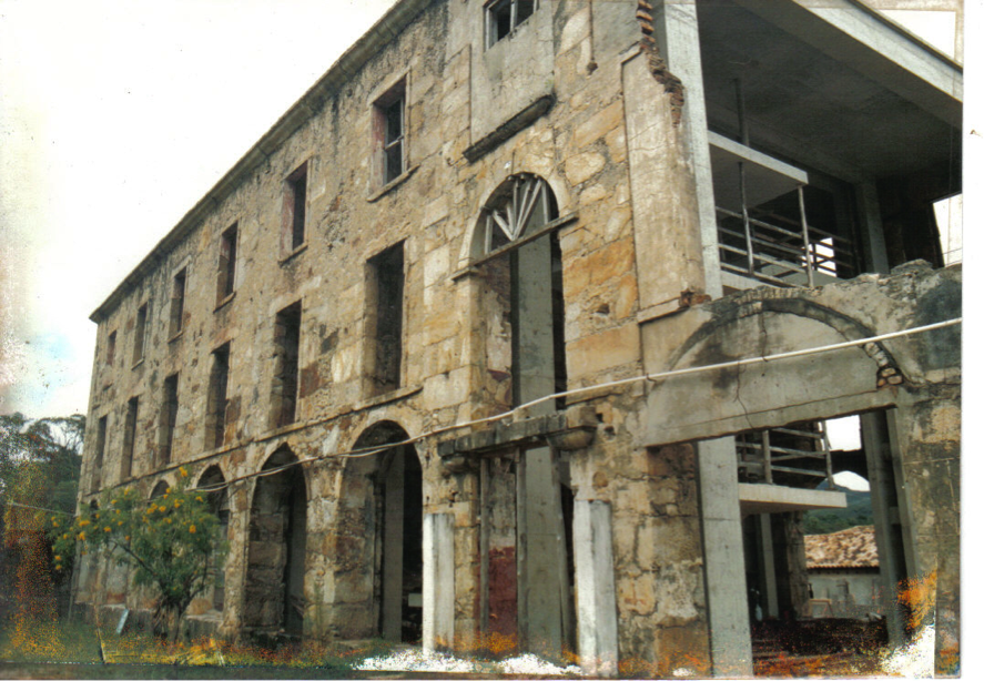 Vista do Complexo do Caraça, no período da Restauração
