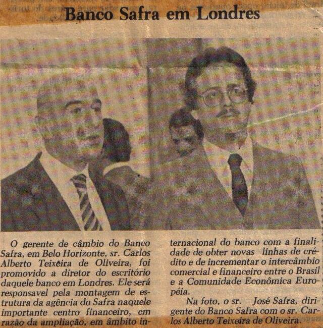 Fonte- Jornal Estado de Minas – março de 1982