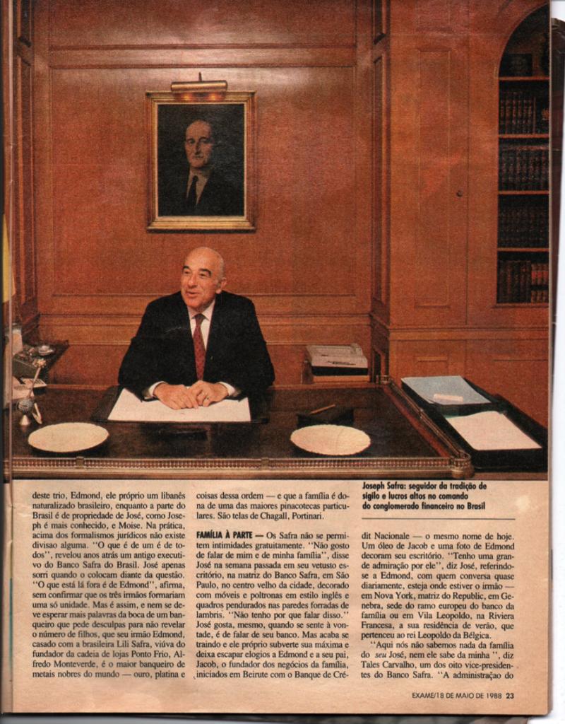 Joseph Safra Banco