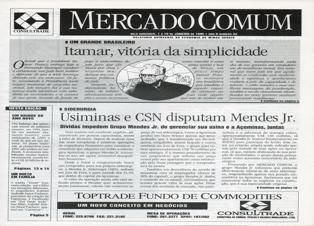 MercadoComum – Edição de 1º de janeiro de 1995