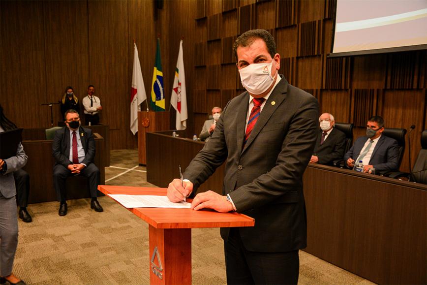 Para o presidente Gilson Soares Lemes, a iniciativa já nasce bem-sucedida, por unir diversas esferas do poder público em prol do bem comum Crédito Riva Moreira TJMG