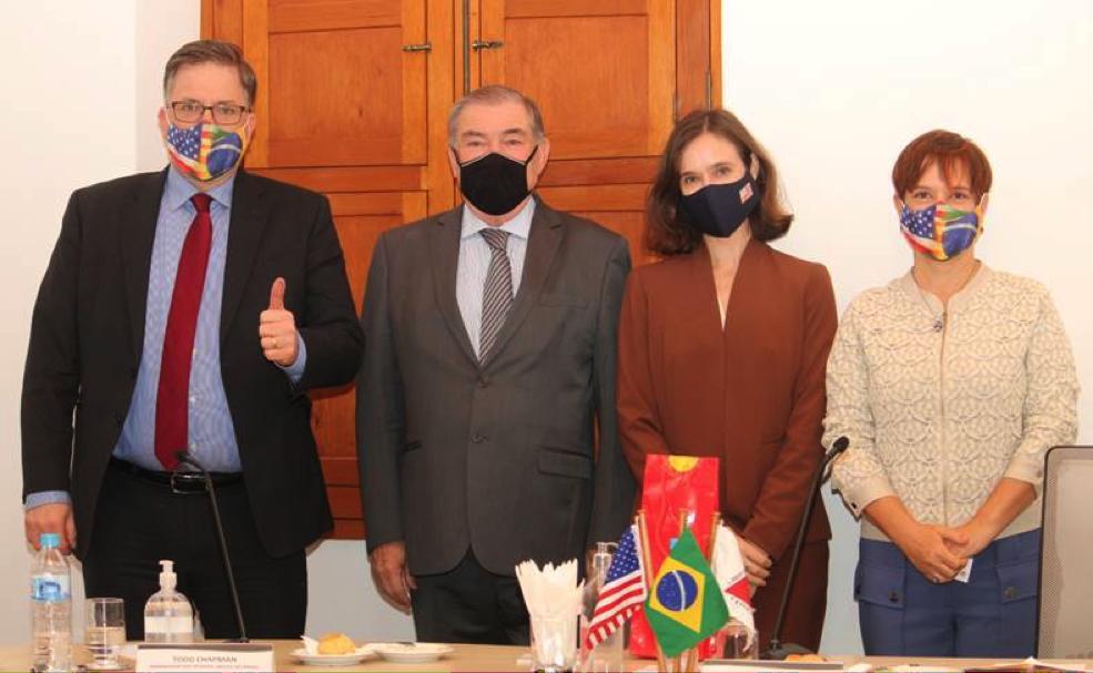 Embaixador dos Estados Unidos visita a FAEMG