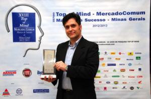 Hermes Pardini - Roberto Santoro, Presidente