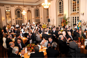 Salões do Automóvel Clube de Minas Gerais, durante Jantar de Congraçamento às Marcas Vencedoras do Top of Mind de Minas Gerais