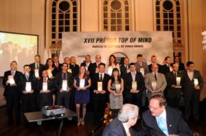 TOP OF MIND – 2021 - Mercado Comum MARCAS DE SUCESSO – Minas Gerais – Vencedores do 26º Prêmio