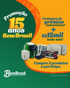 BemBrasil: Campanha de 15 anos distribui dezenas de prêmios