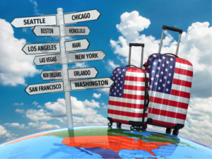Buscas de voos para os EUA sobem até 353% após anúncio da reabertura para estrangeiros vacinados