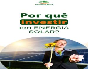 Energia solar é solução em meio à crise hídrica