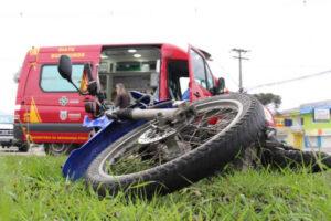Mais de 1/3 das mortes no trânsito envolvem motociclistas